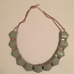 Mint green and gold Necklace from H&M